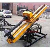 Quality Yanmar Diesel Engine / Electric Motor Powered Anchor Drilling Machine for 30m Engineering Drilling Depth for sale