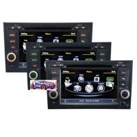Quality Wince CE6.0 Car Multimedia Navigation System With Dual Zone Radio 3G BT TV Car DVD Player for sale