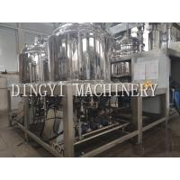 Quality Powerful Vacuum Mixer Homogenizer / 350L Pharmaceutical Mixing Equipment for sale