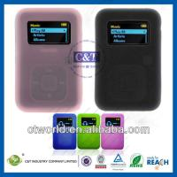 Quality Sansa MP3 Player Silicone Cell Phone Protective Cases For SanDisk Sansa Clip+ for sale