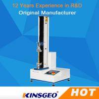Buy cheap 0.5% Accuracy Computer Tape Peel Adhesion Tester / Tensile Strength Testing Equipment from Wholesalers