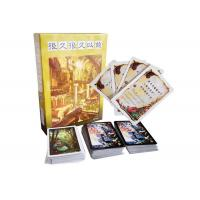 China Customize Printing Fun Paper Tales Board Game / Christmas Card Story Based Board Games on sale