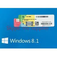 Quality Microsoft Windows 7 COA License Sticker Windows 8.1 COA / Win 10 Pro COA license Sticker Online Activation for sale