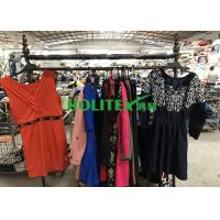 Quality High Grade Used Winter Clothes Polyester / Cotton Material Ladies Dresses For Kenya for sale
