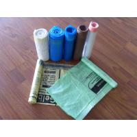 Quality colorful draw tape trash Bags for sale