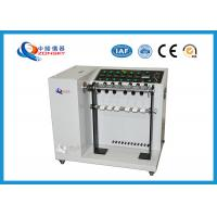 Buy cheap Adjustable Speed Bend Test Equipment / 6-set Wire And Cable Swing Testing from wholesalers