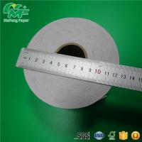 Quality atm thermal cashier receipt paper roll coated with a sleek shiny treatment for sale