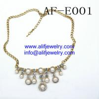 Quality pearl beads necklace jewelry from china professional jewelry manufacturer for sale