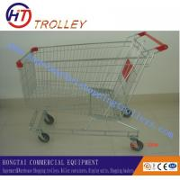 China Australian Type Durable Steel Grocery Shopping Carts  With Wheels 160 L on sale