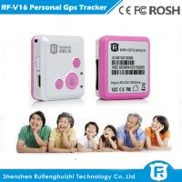 Quality smallest personal gps tracker with sos panic button for help for sale
