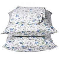 China OEM Printed Cotton Home Bed Sheet Sets / Hotel Bedding Set Single Size or Double Sizie on sale