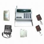 Quality DIY Wireless Intruder Alarm System Kit with Eight Alarm Zones for sale