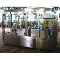 Quality AutomaticAluminum Can filling machine and sealing 2 in 1 for Soft / Carbonated Drink Water for sale