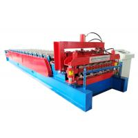 Quality Customized Color Steel Roof Roll Forming Machine , Wall Panel Roll Forming Machine for sale