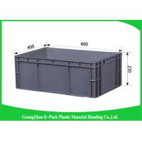 45 Litre Euro Plastic Storage Boxes , Industrial Storage Bins Light Weight PP