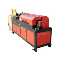 Quality Automatic 6 - 12mm Rebar Straightening Machine 7.5kw Motor Power Cast Steel Clip for sale