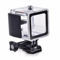 Quality GoPro Hero 4 Session Waterproof Housing Case Standard Underwater 60M Protective Box Go Pro Accessories for sale