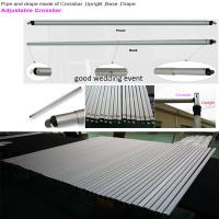 Wholesale Cheap Pipe And Drape For Events Telescopic Pipe