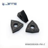 Quality Triangle Carbide Turning Inserts Cutting Tools WNMG080408 - PM For Steel Machining for sale