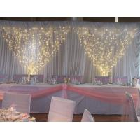 Quality wedding curtain light led for decoration for sale