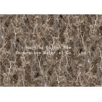 Quality MDF Panel Board Cover Fake Marble Adhesive Film Fire For Home Decor Prevention for sale