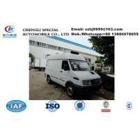 Quality 2019s best price IVECO 4*2 LHD diesel refrigerated minivan  for sale, Wholesale price 2tons IVECO cold room truck for sale