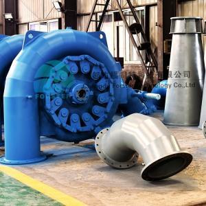 China Hydrolic 1megawatt Micro Francis Turbine With Electric Generator on sale