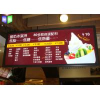 Buy Ceilling Hanging Restaurant Light Box Signs 15 mm Thickness SGS Approved at wholesale prices