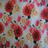 "Quality 100% cotton printed fabric 40X40 133X72 57/8"" for sale"