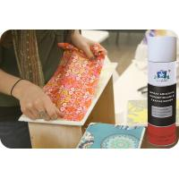 Quality Repositionable Fabric Adhesive Spray No CFC Textile Spray Contact Adhesive for sale