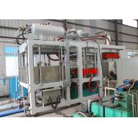 China Recycled Pulp Molding Machinery , Vacuum Forming Paper Plates Making Machine on sale