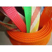 Quality Promotional PET Expandable nylon mesh cable sleeve RoHS UL Certificate for sale