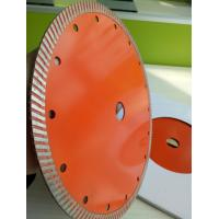 230mm Continues Turbo Diamond Saw Blade , Hot Press Concrete