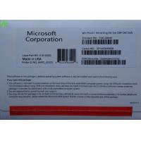 Quality Microsoft Windows 7 Softwares , OEM Software Windows 7 Professional x64 for sale