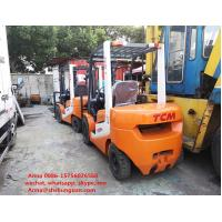 Quality 3000 Kg Loading Capacity Used Diesel Forklift Truck Excellent Working Condition for sale