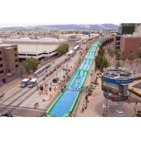 Quality Green Giant Inflatable Slide , Crazy Fun 1000 Ft Inflatable Giant Slide for sale