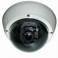 Quality 4.5-inch CCTV Vandal-proof Dome Camera with Varifocal 4 to 9mm Lens, 420 to 700TVL in White Colors for sale
