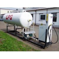 Quality 10,000Liters Q345R Steel White LPG Autogas Station Application LPG Dispenser for sale