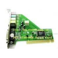 Buy cheap CMI/HT8738 6-channel PCI sound card from wholesalers