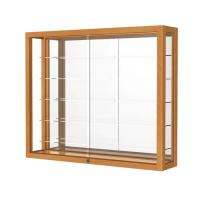 Quality Simple Retail Wall Display Shelves Solid Wooden Wall Display Cases Heirloom Series for sale