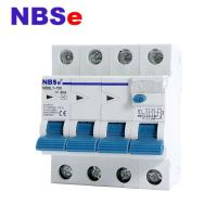 Quality 4 Pole Mcb Rccb Residual Current Circuit Breake With Switch 125amp Rcbo for sale