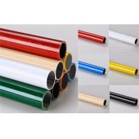 Quality Multi color  ESD Black  Lean Pipe PE Coated 0.8MM / 1.0MM / 1.2MM Thickness Pipe for sale