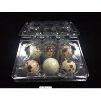 Quality hot sells egg trays clear quail egg trays with 6 holes 2*3 holes PVC / PET / APET... quail egg container for sale