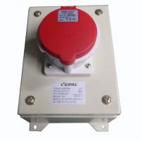 Buy cheap IP44 Metal socket outlet box from wholesalers
