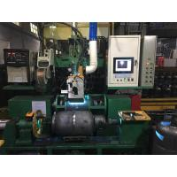 Buy cheap Gas bottle welding machine CNC Metal Spinning Lathe for natural gas pressure vessel making from wholesalers