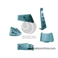 Quality Ball mill liner   mining machinery precision castings for sale