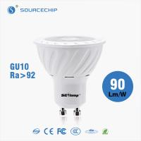 Buy cheap 7W Ra90 GU10 high bright LED spot light wholesale from wholesalers