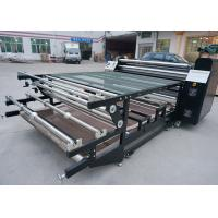 China Digital Controller 1800mm Roller Heat Press Machine For Roll To Roll Fabric on sale