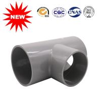 90 Degree Pvc Tee Fitting UPVC Pressure Pipe Fittings For