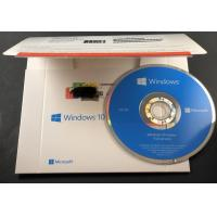 Buy Genuine Microsoft Win10 home 32bit 64bit OEM package coa sticker DVD windows 10 home computer software system at wholesale prices